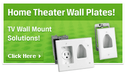Home theater wall plates