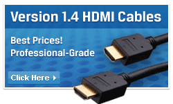 Version 1.4 HDMI cables