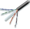 23 AWG Solid 550 MHz CMR Rated Black Enhanced Cat 6e Cable 1000 ft Box