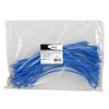 ICC ICPCSD07BL Ultra Slim Line Blue 7ft Cat 6 Patch Cable 25 Pack