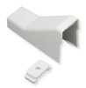 "ICC ICRW22CMWH 3/4"" White Raceway Ceiling Entry and Clip"