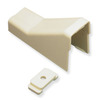 "ICC ICRW12CEIV 1 1/4"" Ivory Raceway Ceiling Entry and Clip 10 Pack"