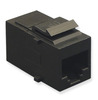 ICC IC107CP6BK Black Cat6 In-Line Keystone Modular Coupler