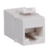 ICC IC107CP6WH White Cat6 In-Line Keystone Modular Coupler