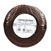 22/2 Solid Alarm Wire Brown | 500ft Coil Pack | UL Listed & CMR Rated