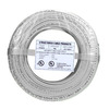22/2 Solid Alarm Wire White | 500ft Coil Pack | UL Listed & CMR Rated